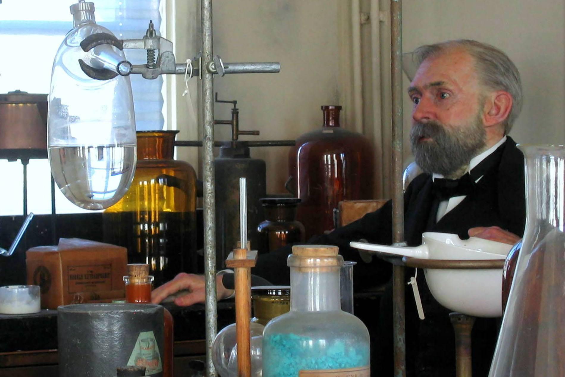 Alfred Nobels laboratorium