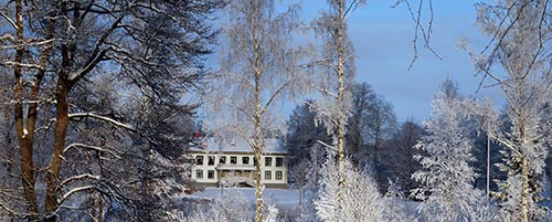 Björkborns herrgård, vinter