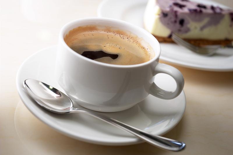 En kopp kaffe på Björkborn